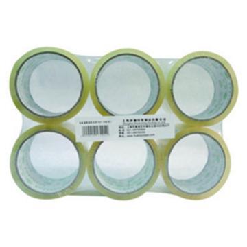 环球 透明封箱带,6CM*40Y 透明色 (1封/6卷 按封订货) 单位:封
