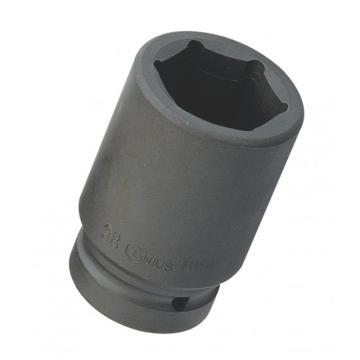 """天赋气动公制6角长套筒,1""""系列50mm,1″x50mmx100mmL"""