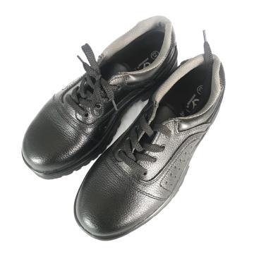 澳翔 安全鞋,AX017SBP-41(同型号50双起订),牛皮防砸防刺穿安全鞋PU底