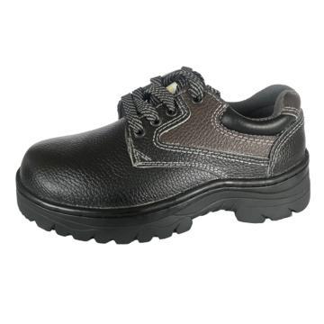 澳翔 安全鞋,AX3028SBP-40(同型号50双起订),牛皮防砸防刺穿安全鞋PU底