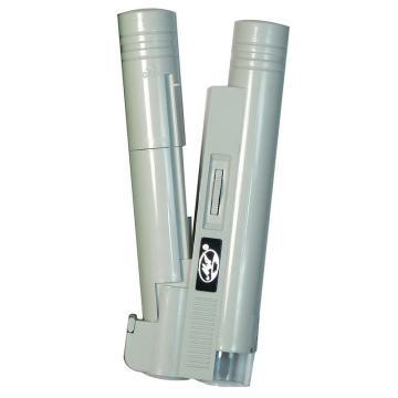 美精 100倍便携式高精度低能耗纯白光显微镜,MJ-100X