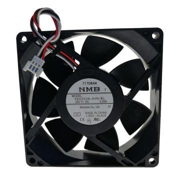 NMB 轴流风扇,09225VA-24N-BL,含指定端子安装
