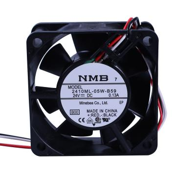 NMB 轴流风扇,2410ML-05W-B59,含指定端子安装