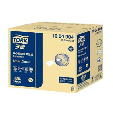 多康(TORK)SmartOne®中心抽卫生纸,520节2层 1004904,18卷/箱 规格:180*134 单位(箱)