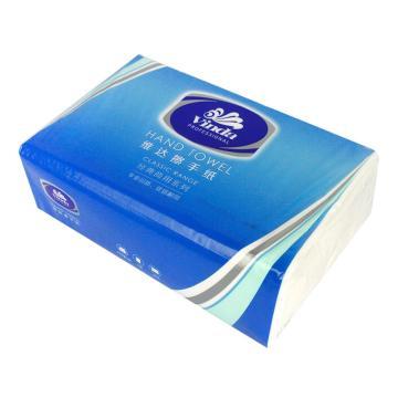维达(Vinda)200张单层普通商务擦手纸,VS2060,20包/箱 纸张规格:222*226 单位(箱)