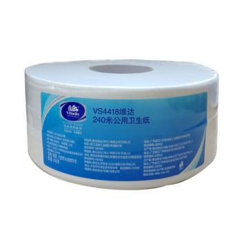 维达(Vinda)240米2层卫生纸,VS4418,12卷/箱 纸张规格:112*95 单位(箱)