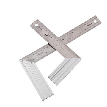 捷科 钢角尺,300mm,AS-300,072202