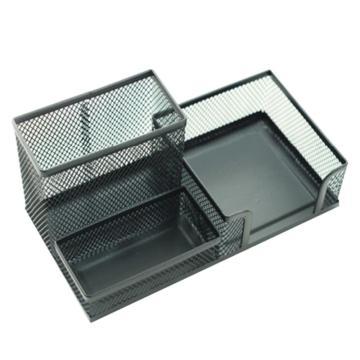 晨光 M&G 组合金属笔筒,ABT98405 (黑色)单个