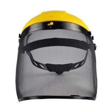 代尔塔DELTAPLUS 防护面屏套装,101306,PICO2 网格防飞溅面屏+支架,1套