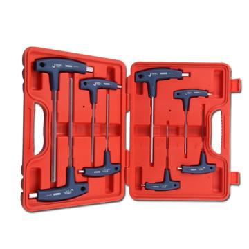 捷科 T型内六角扳手套装,TPS-8S,040480