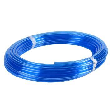 SMC 难燃性FR双层聚氨酯管,Φ8×Φ5,外层壁厚1mm,100M/卷,蓝色,TRBU0805BU-100