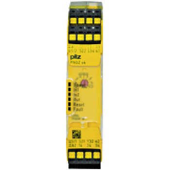 皮尔兹Pilz 安全继电器,PNOZ s4 C 24VDC 3n/o 1n/c (751104)