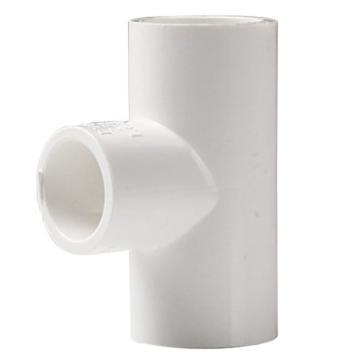万鑫军联/WXJL U-PVC给水管件 变径三通,90*50mm