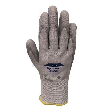 XZ/Dyneema® 5级防割手套,ESC1619-7,13针迪尼玛®钻石纱 掌浸(行业定制)