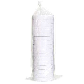 得力 棉纸双面胶带,18mm*10y 30402 16卷/袋 单位:袋