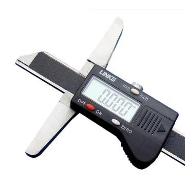 哈量 数显深度尺,0-500mm,615-03,不含第三方检测