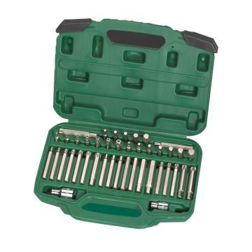世达旋具头套装,8mm系列42件套, 09327