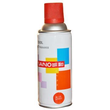 三和 自喷漆,桔红 350ml/瓶 ,12瓶/箱