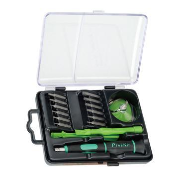 宝工 手机笔记本电脑维修工具组,17合一工具组套,SD-9314