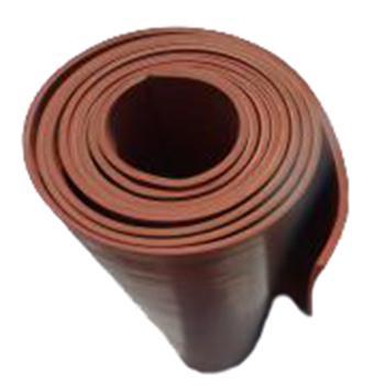 金能 绝缘橡胶板,红色平面6mm,耐压15KV 尺寸0.8m×0.6m 单位:块