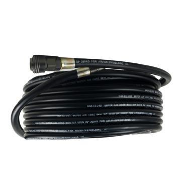 直径16mm气管(包含接头,颜色随机发货),长度20米,配合气动工具使用