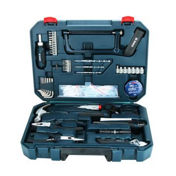 博世108件套装家用多功能手动工具组套