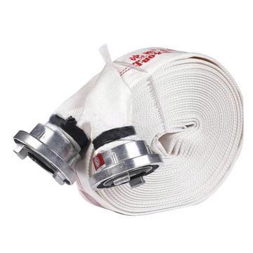 沱雨 天然橡胶衬里轻型水带,口径65mm,工作压力1.0,长度25米(含内扣式接口)