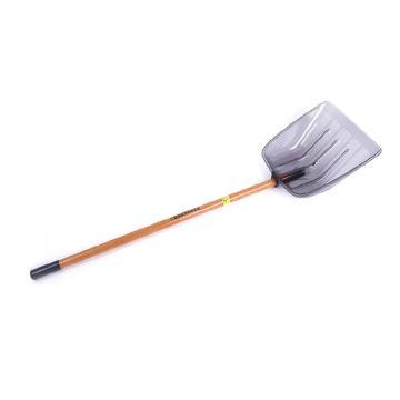 加厚深铲42#38带柄一套,(颜色随机)雪铲42*38 cm,木柄长1.4米 总长1.82米