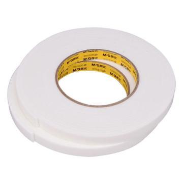 晨光 M&G双面泡棉胶带,AJD97352 12mm*5y 2卷/袋 单位:袋
