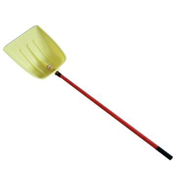 加厚深铲50#45带柄一套,(颜色随机)雪铲50*45 cm,纤维柄长1.4米 总长1.9米