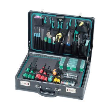 宝工 Pro'skit专业工具电子电讯电工维修工具套装,42件套,1PK-1305NB-1