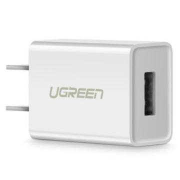 绿联 苹果手机单口充电头,小巧款白色 单位:个