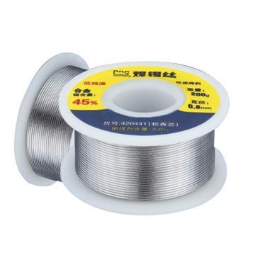 长城精工Greatwall 无铅焊锡丝,200g,¢1.0mm,420412,焊条 助焊剂 锡丝 锡线 锡条 无铅锡膏