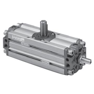 "SMC 齿轮齿条式摆动气缸,缸径50mm,角度90°,接管Rc1/8"",CDRA1BSU50-90Z"
