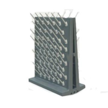 台雄滴水架,SAN-8104G,PP双面,112根滴水棒,灰色