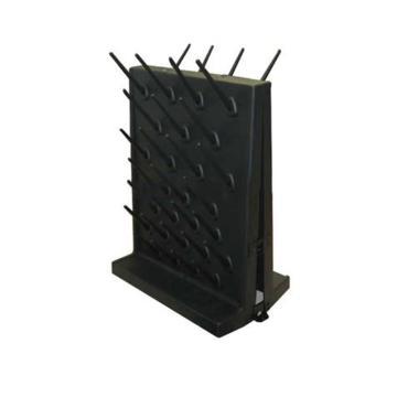 台雄滴水架,SAN-8102B,PP双面,54根滴水棒,黒色