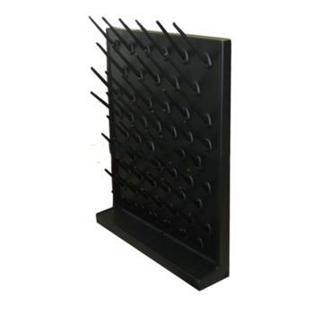 台雄滴水架,SAN-8103B,PP单面,56根滴水棒,黒色