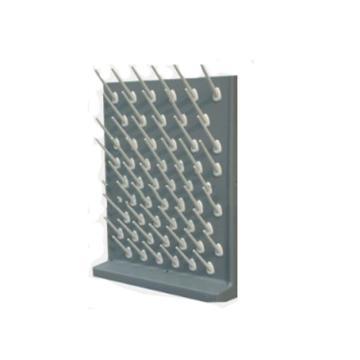 台雄滴水架,SAN-8103G,PP单面,56根滴水棒,灰色