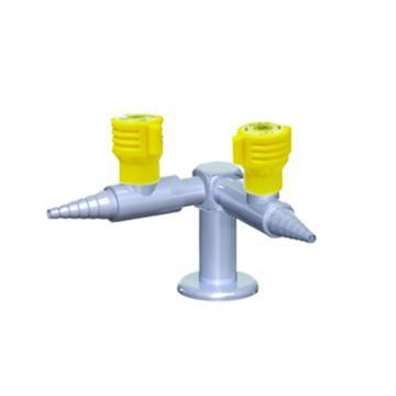 台雄气体考克,SAN-23202,立式90°,双口