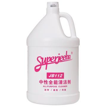 白云中性清洁剂,JB-112,4加仑/箱,单位:箱