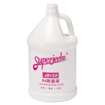 白云84消毒液,JB-130,1加仑/桶 4桶/箱,单位:箱