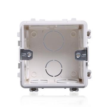 西门子SIEMENS 远景系列安装底盒,5TG06021CC1 雅白