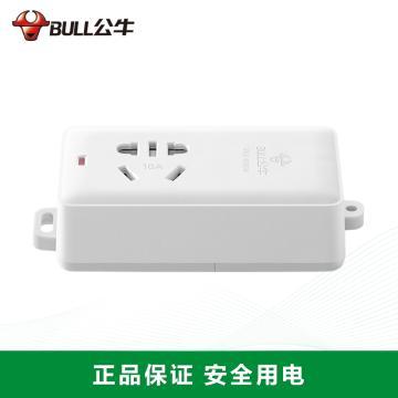 公牛BULL 接线板(新国标),基础系列,GN-103D 无电线 1位