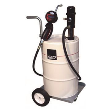 MATO 3400460 3:1可移动气动机油泵组套,带数显机油枪,适用50/60L油桶