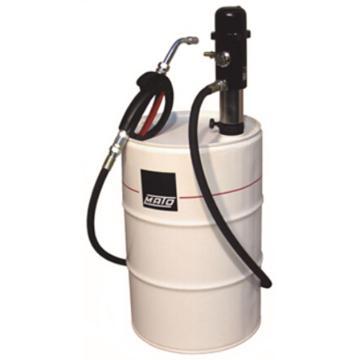 MATO 3400101 1:1可移动气动机油泵组套,带机油枪,带机油枪,吸管调节长度520-800mm