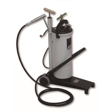 MATO 3386054 重型脚踏黄油泵,带2m高压胶管和四爪平油嘴
