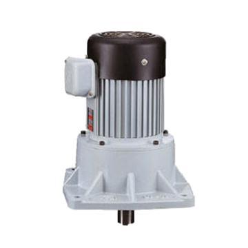 利明LIMING 齿轮减速电机,立式安装,减速比1:25,0.1KW,附刹车