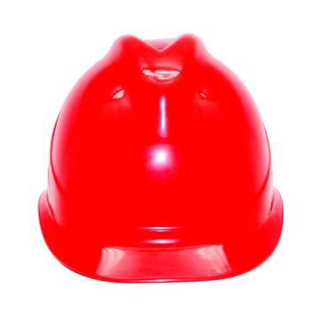 安铠迅 安全帽,GY-A1-红(同一系列30顶起订),V型ABS安全帽 红色