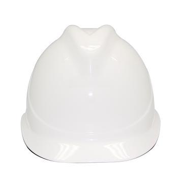 安铠迅 安全帽,GY-A1-白(同一系列30顶起订),V型ABS安全帽 白色