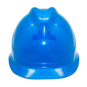 安铠迅 安全帽,GY-A1-蓝(同一系列30顶起订),V型ABS安全帽 蓝色